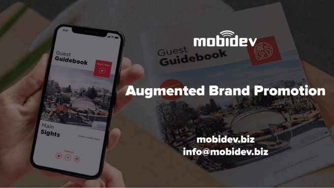 Augmented reality for iOS applications