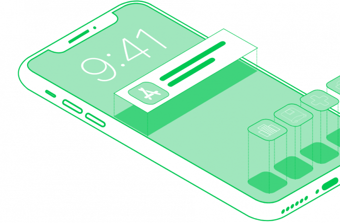 Custom iOS development services in a number of business domains