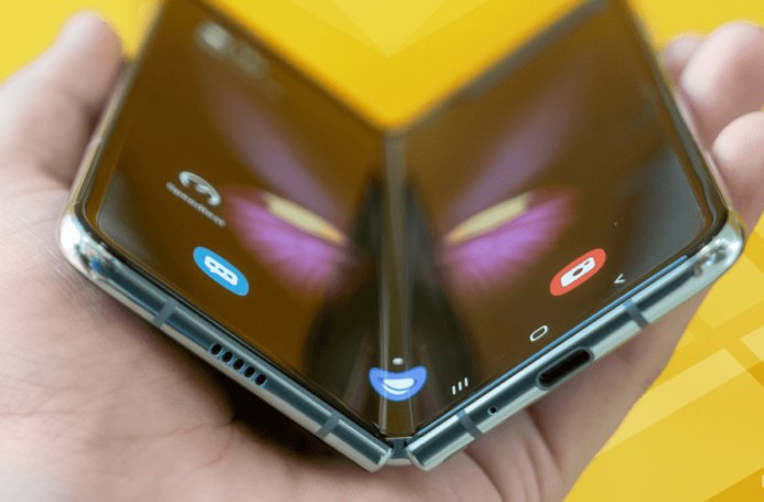 Android app development for foldable phones