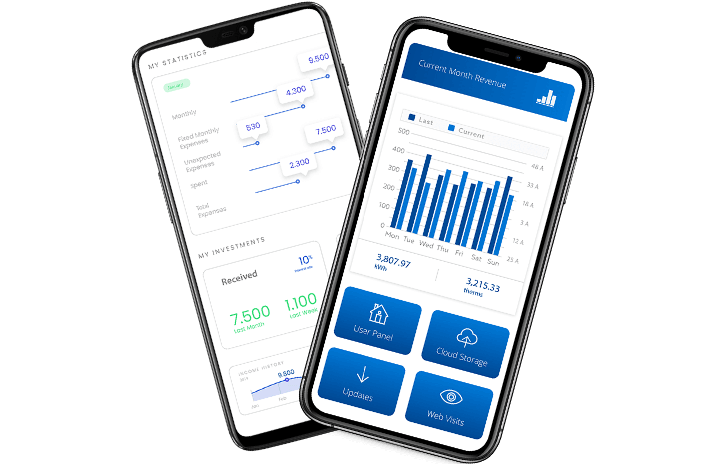 Success story: cross-platform mobile software for energy usage management