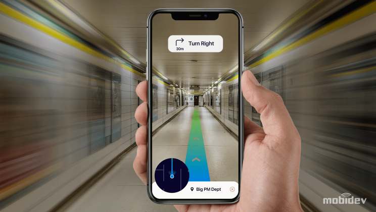 How Augmented Reality Indoor Navigation Works