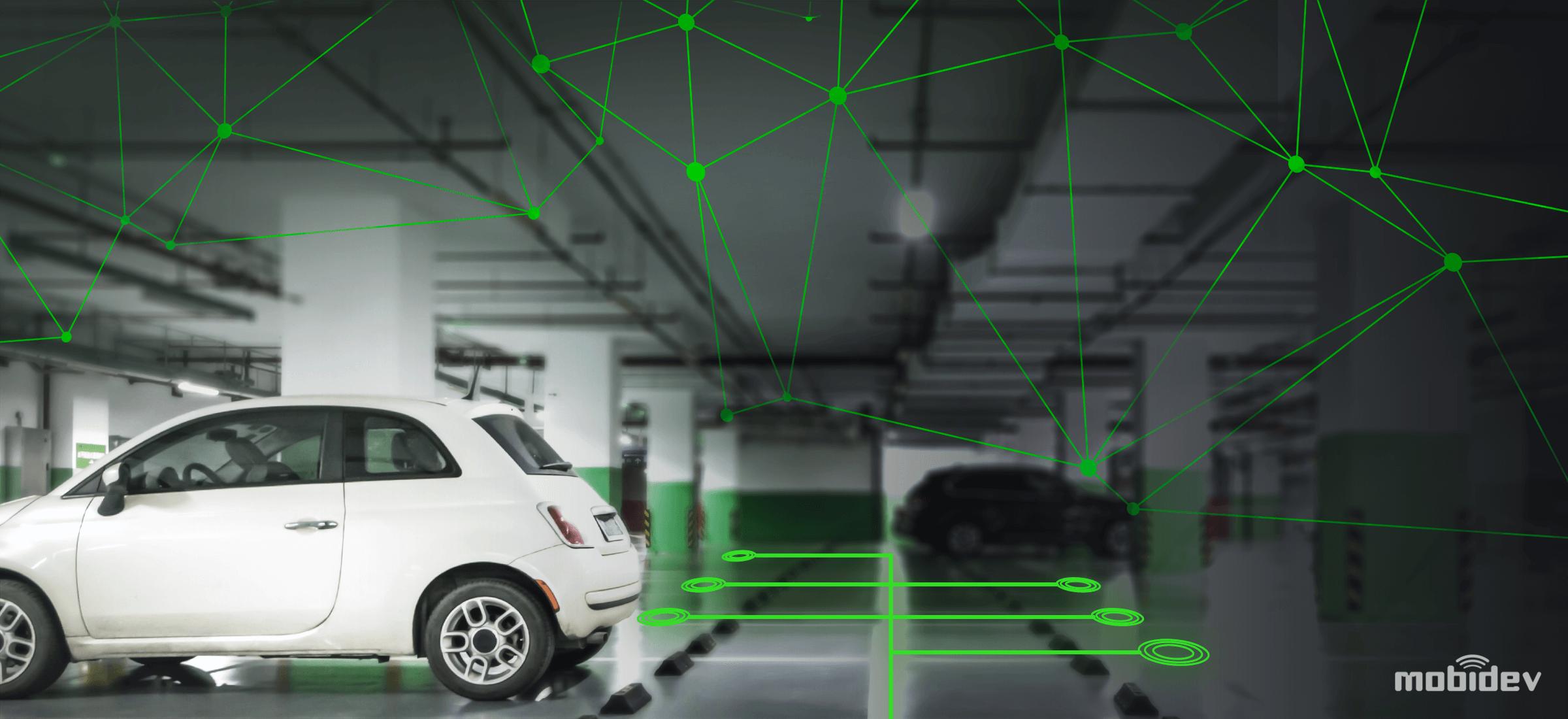 Iot Based Smart Parking System Development Mobidev
