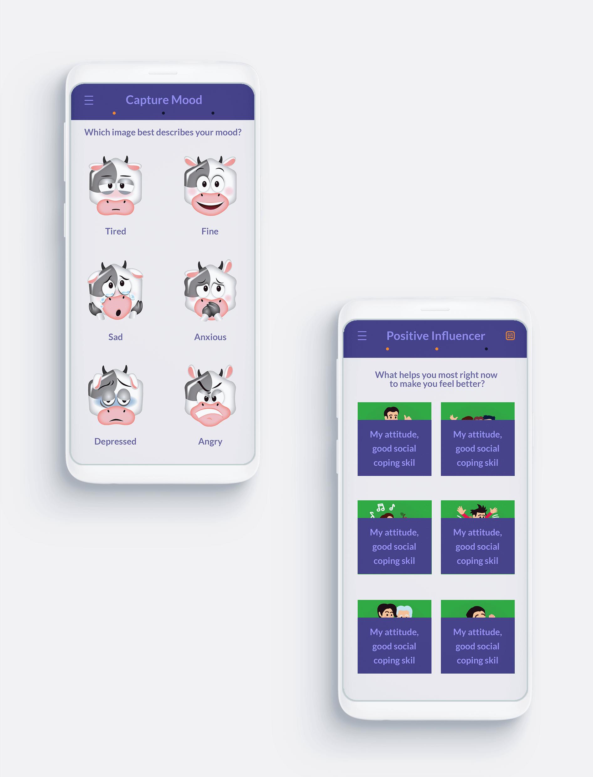 Medical Mobile App Screens