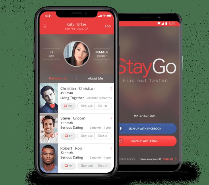 Multiplatform app for relationship evalustion for startup