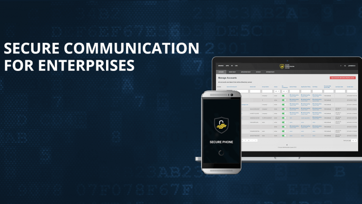 Case study: Developing OS for enterprise secure communication