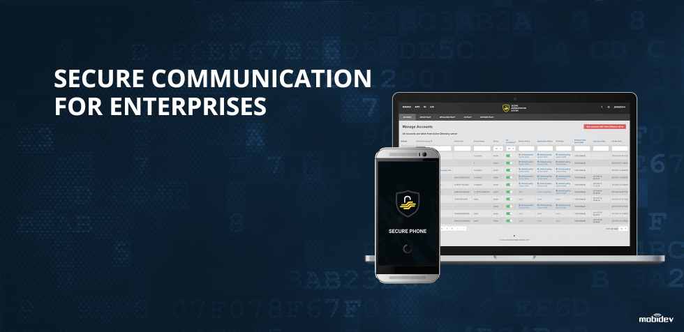Case study: custom operating system development for enterprise secure communication