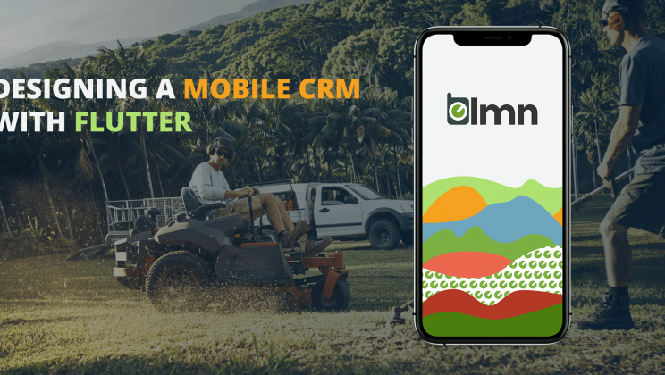 Case study: Mobile CRM application development for landscape industry