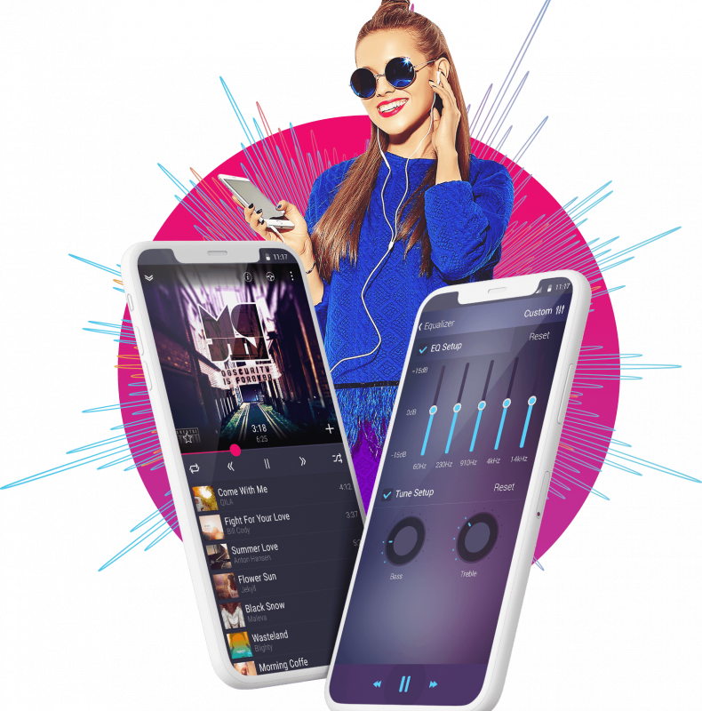 MDPlayer, music player supporting Android Auto & Android Wea