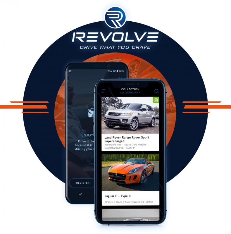 Mobile application allows clients to browse and request cars