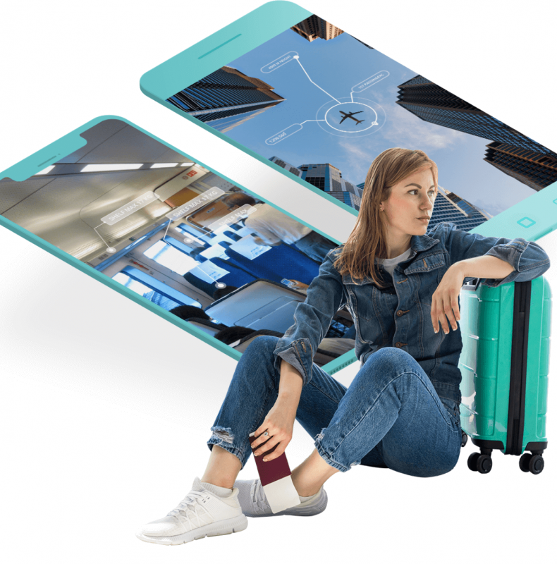 Mobile applications with augmented reality features to engage travelers and increase retention