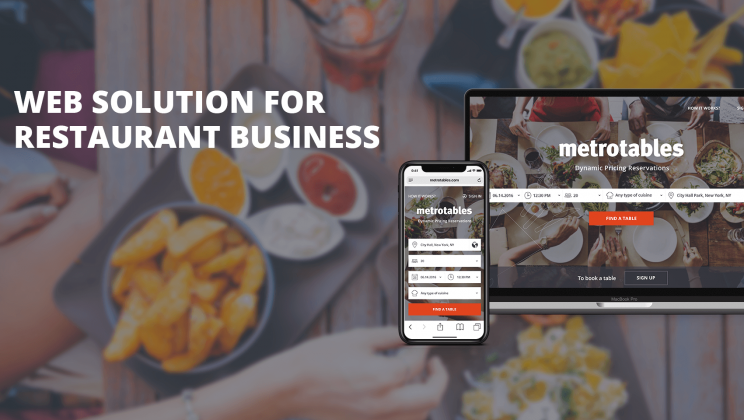Case study: Full-cycle software development for the restaurant industr