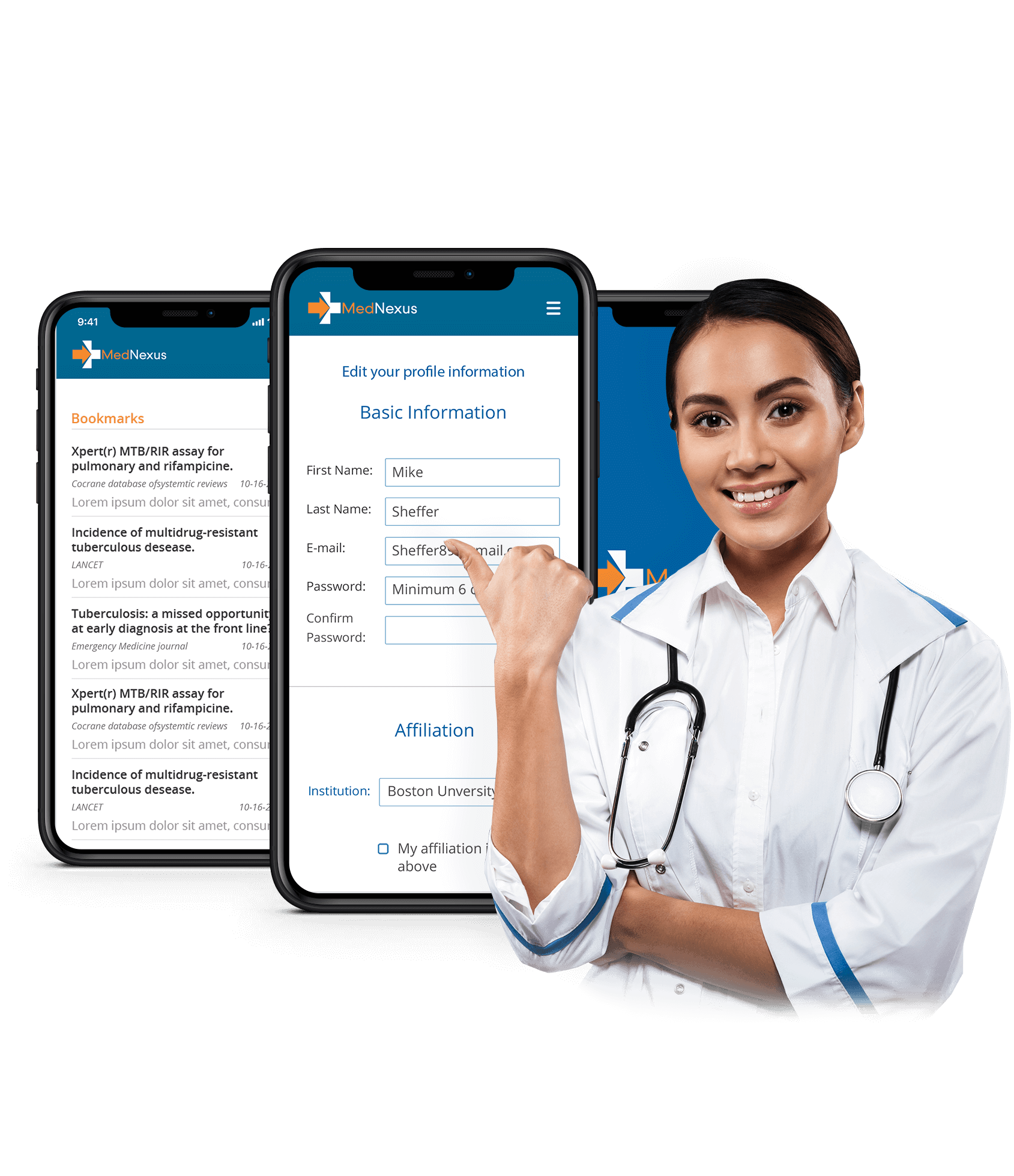 Medical search engine for patients