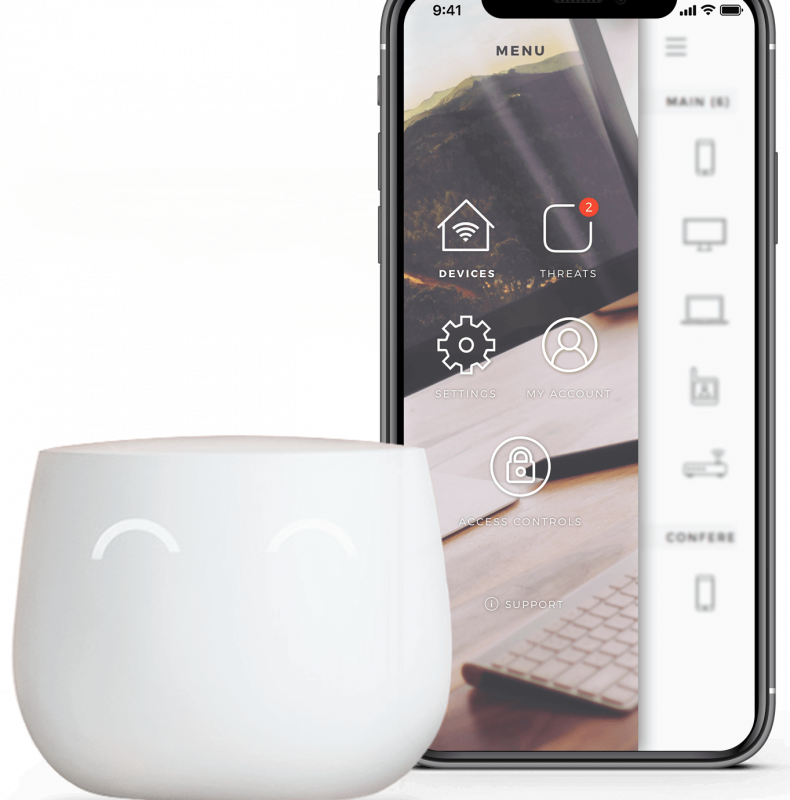 IoT application development for smart home firewall device