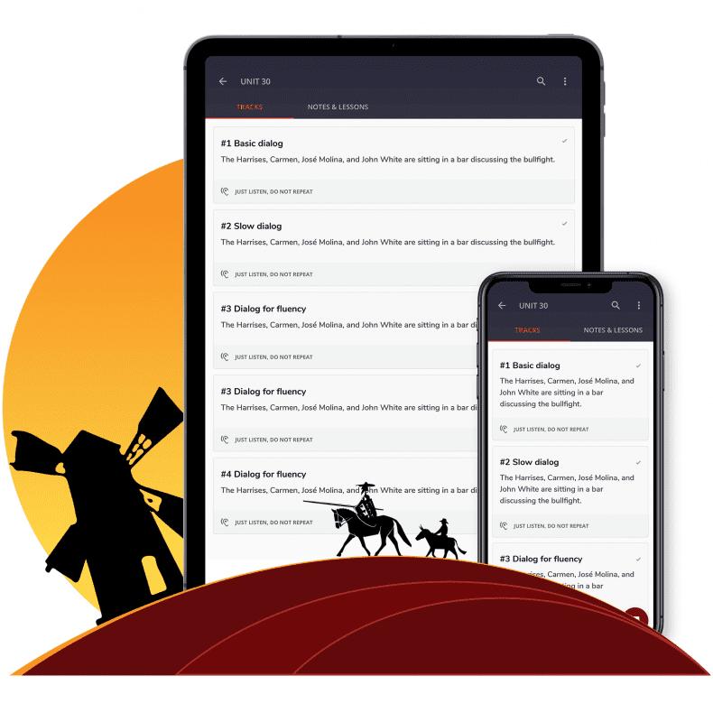 Flutter based cross-platform app for learning Spanish