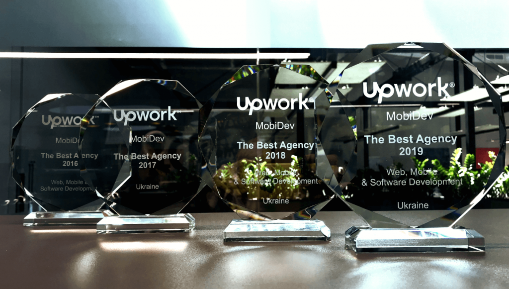 MobiDev Won The Fourth Award as The Best Upwork Agency
