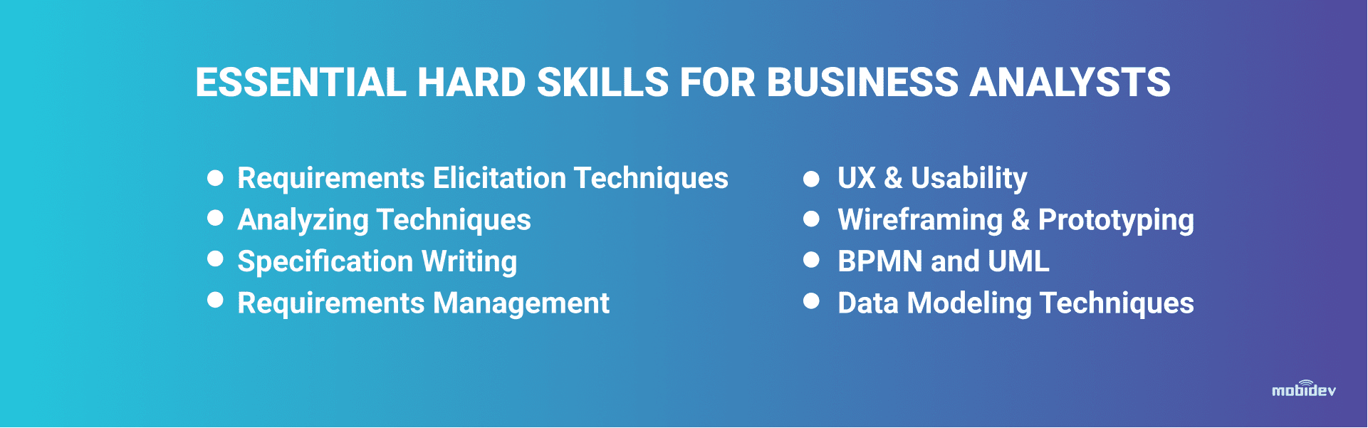 Hard Skills for a Successful Business Analyst